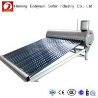 Chinese Famous Brand Babysun Non-Pressurized Solar Water Heater / Calentadores Solares / Calentador de agua solar (6-50 tubos)