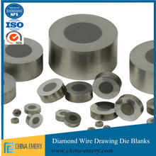 Polycrystalline supported pcd wire drawing die supported wire drawing pcd diamond die