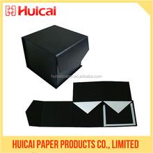 Luxury paper flat pack bio-degradable folded transparent chocolate box