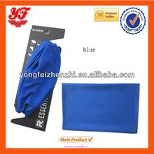 2014 Fashion solid colour Plain bandana in blue