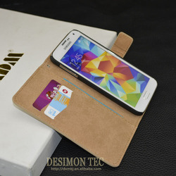 Mobile Phone Leather Case For Samsung Galaxy S5