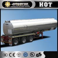 Three axles CIMC 40000 litre fuel tanker trailer for sale fuel tanker truck dimension