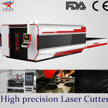 1KW IPG Metal Fiber Laser Cutting Machine for 6mm thick mass