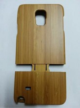 Best price Wood & bamboo hard case for Samsung Galaxy Note 4