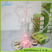 Factory direct wholesale glass hookah all glass hookah shisha