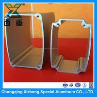 6005 T5 Aluminum Extrusion Hollow Profiles