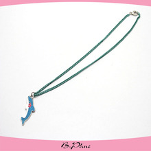 enamel dolphin pendant necklace for kids