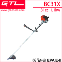 1.5hp 4-stroke brush cutter/grass trimmer similar to Honda GX31 BC31X