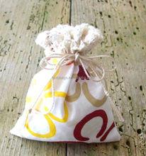 Customized top quality promotional drawstring shopping bag/muslin drawstring bag