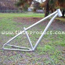 "Titanium Bike Frame MTB 29"" Tapered Head Tube/Special Disc Brake on Chainstay"
