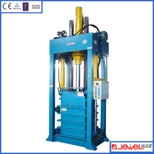 For secondhand clothes Lift chamber Press baler machine for used clothing presses