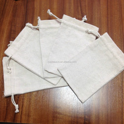 MOQ 500pcs cosmetic / jewelry pouch small canvas bag