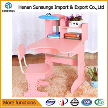 Beautiful pink kindergarten school desk/party tables and chairs