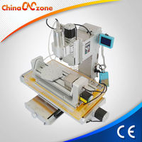 Affordable Water cooled 5 axis HY-3040 Plywood CNC Cutting Machine