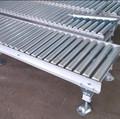 Bajo carbono acero de bajo carbono rodillos de gravedad conveyers