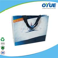 High quality custom cheap Moisture Proof pp woven shopper bag