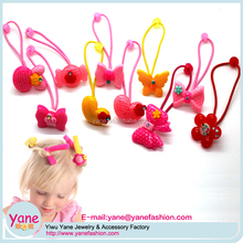Lovely resin accessories elastic hair band for girl baby