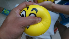 2015yiwu new product custom pu stress ball,mini basketball stress ball