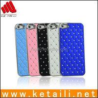 3D Bling Crystal Rhinestone diamond case for iphone 5 5S ,glitter diamond case for iphone 5 5S