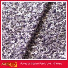 ACG Fashion new design cheap pretty polyester embroidery polyester corduroy /velvet fabric