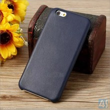 Popular Ultra Slim Leather & TPU Back Cover Case for iPhone6, Stylish Thermoforming Leather SmartPhone Case for iPhone 6