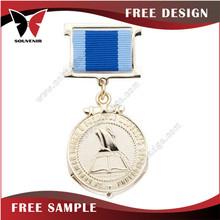 Custom design Custom design 3d hold gold metal medal new promotion gift for 2015