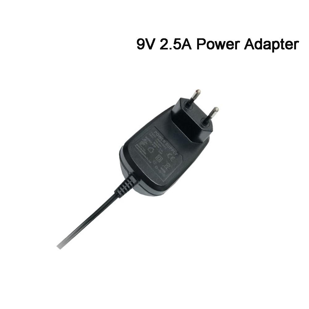 Protezione di Cortocircuito KC Spina 24 W 9V2. 5A 9 V 2.5A Auricolare Powertron Più Adattatore