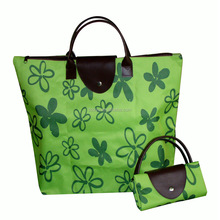 China manufacture foldable polyester Shopping tote Bag