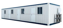 20ft container house with wheels