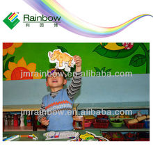 Future toys plastic inflatable paper toys