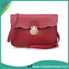 Korean Style Young Lady Red Mini Fashion Mobile Phone Shoulder Bag