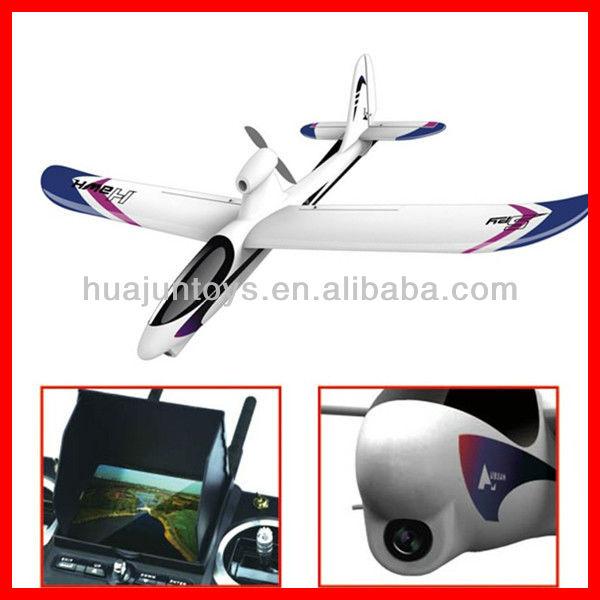 Hdmi 5.8 ghz sans fil transmetteur vidéo sans fil 4 canaux FPV SpyHawk RC avion H301F faucon RC avion avec FPV Systerm hubsan