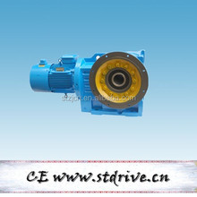 STdrive model S77 helical worm reduction gearbox with 3phase AC motor unit