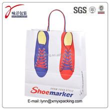 cheap customized shoe paper bag