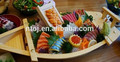 de bambú sushi barco para poner el sushi