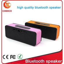 portable usb sd card mini speaker fm radio with best bass made in China