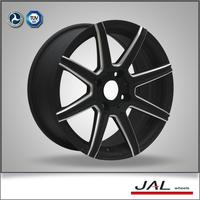 popular design 7.5x17 inch black car alloy rims
