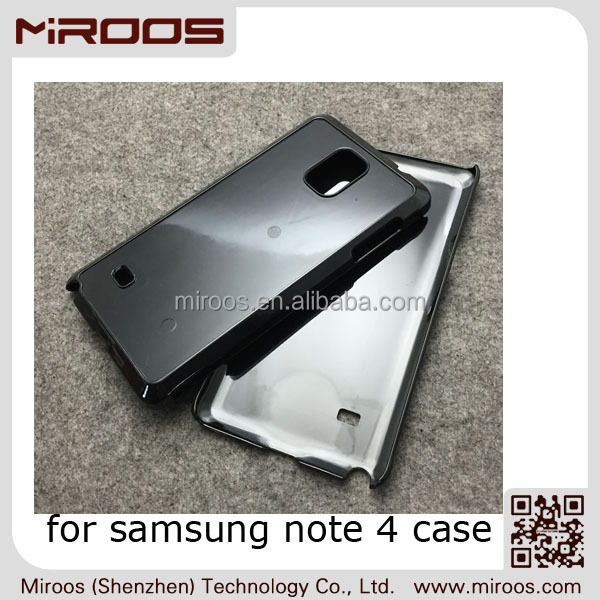 MIROOS wholesale custom logo design hard PC case for samsung note 4,for samsung galaxy note 4 case
