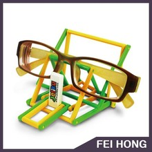 Own design light-weight holder for glasses/phone/watch