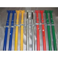 Scaffold shoring steel props