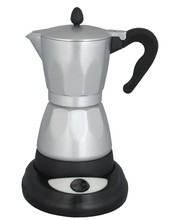 delonghi coffee machine Aluminum electric coffee maker with different base