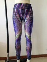 high quality women sexy tight yoga sublimation pants,girls jogging running athletic jeans,breathable ladies sports trousers
