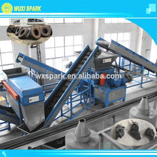 Waste Car Tyre Shredder used in Tire Recycling Line