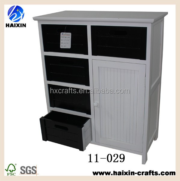 Unfinished cheap wood furniture wholesale white shabby for Cheap white cabinets sale