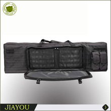 "39"" Tactical Gun Case With Double Magazine Pouch"