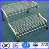 Galvanized low carbon steel floor grating
