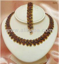 Handmade Baltic Amber Fashion Design Necklace, Bracelet