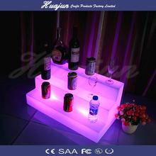 Night Club Lighting Illuminated LED wine display