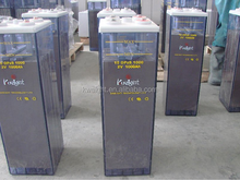 Long life flooded tubular plate battery 1000Ah 2 v deep cycle opzs battery