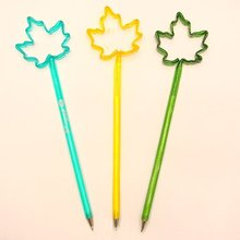 Maple Leaf Shape Logo Pen